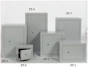PT sērijas seifi