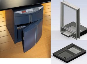 Security for cash desk